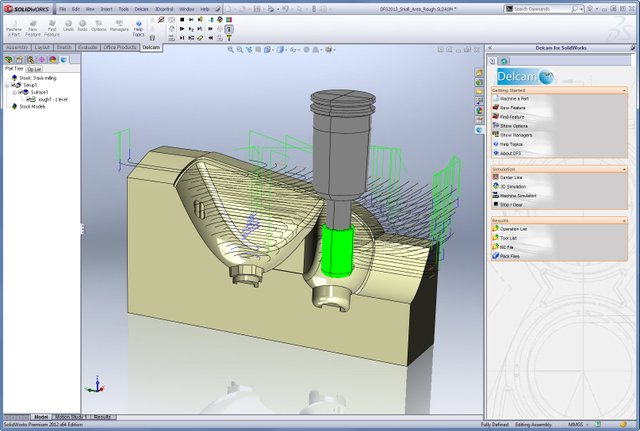 Delcam for Solidworks 2013