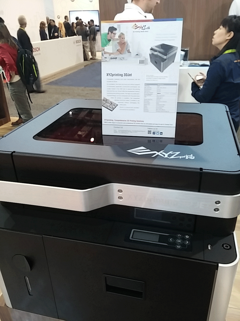 The 3D Jet is being showcased at CES