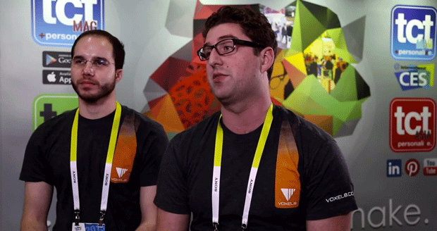 Voxel8 talk to TCT at CES