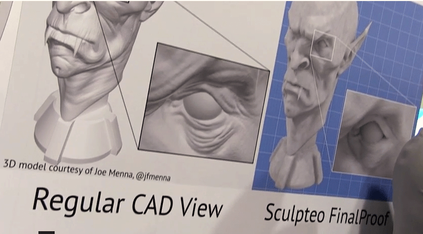 Sculpteo Final Proof at CES