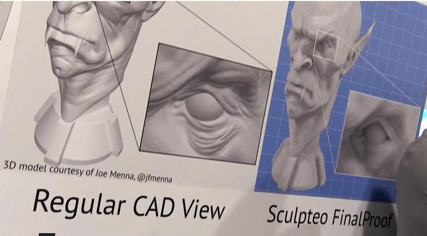Sculpteo Final Proof at CES