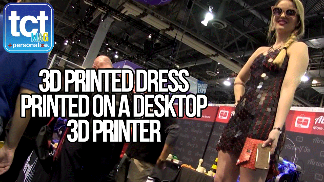 Airwolf 3D printed dress