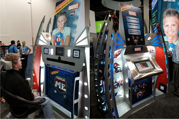 3D Plus Me Booth
