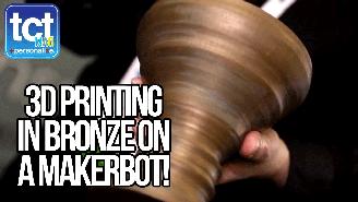 MakerBot Composite Filaments at CES 2015