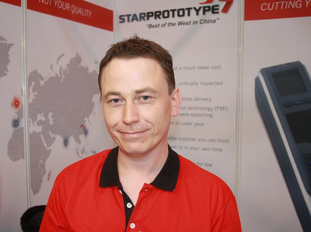 Star Prototype Apppoint Dave Moir