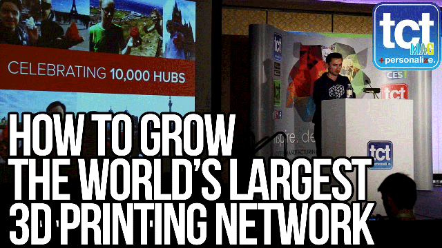 How to grow the world's largest 3D printing network