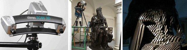 Scanning Michelangelo's work