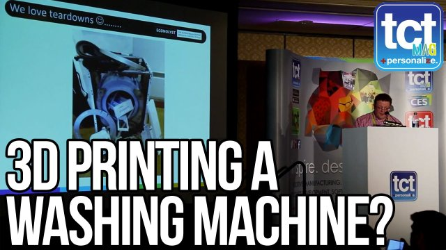 3D Printing a washing machine