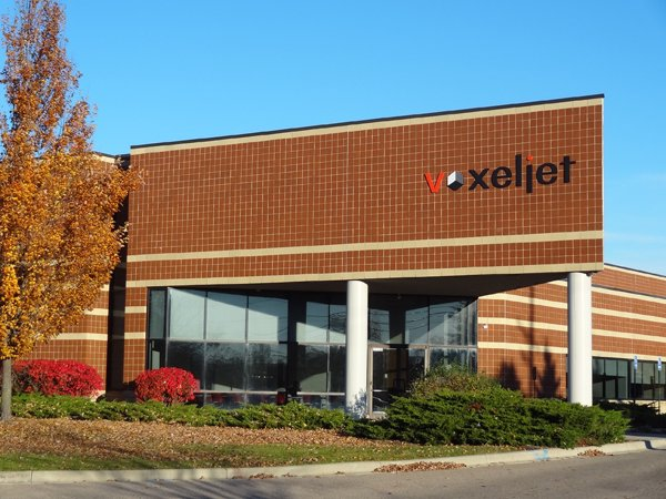 voxeljet of North America building