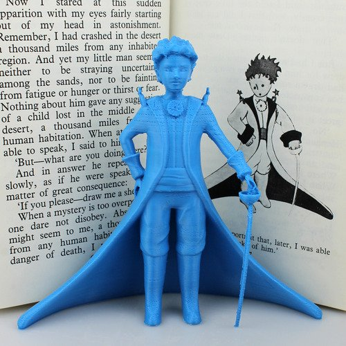 The Little Prince 3D Printed
