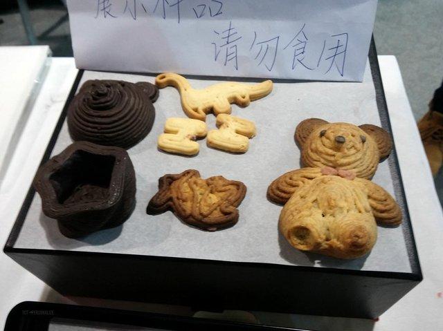 3D Printed Food at TCT Asia