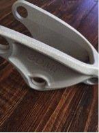 Additive Aluminum bracket built using the EOS System