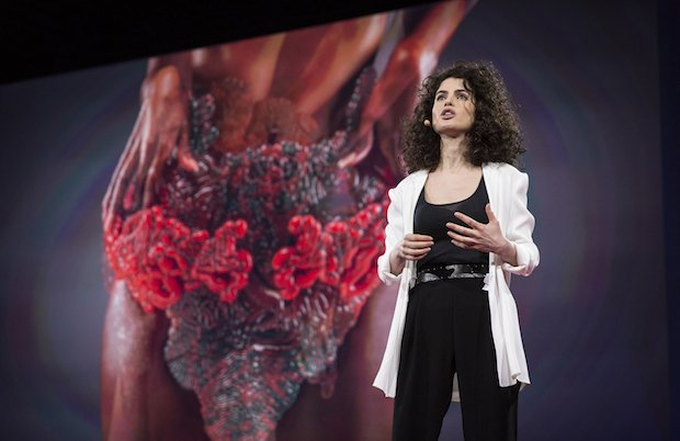 Neri Oxman's lauded TED Talk reveals Stratasys 3D printed wearable.jpg