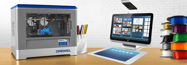 HP's Sprout and Dremel Idea Builder Partnership