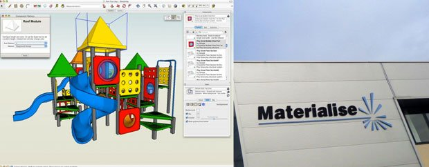 Materialise Partner With SketchUP