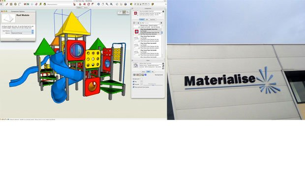 Materialise partner up with Trimble