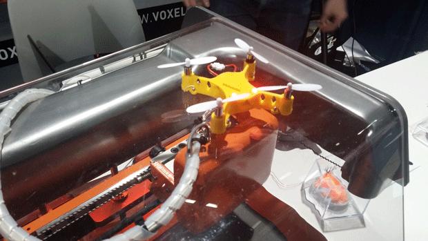 Quad-Copter printed on Voxel8 Developers Kit