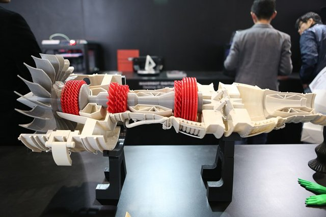Engine on MakerBot booth at TCT Asia