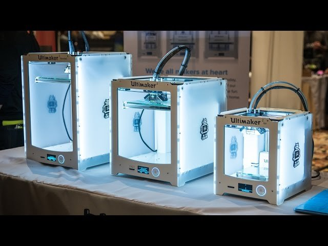 Ultimaker Family at CES