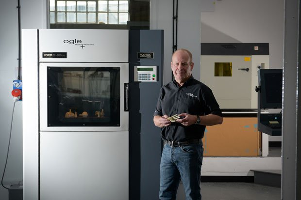 Ogle Models new Fortus Machine