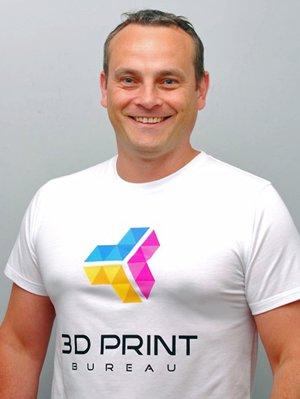 Gary Miller, founder of 3D Print Bureau