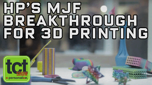 HP's MJF Breakthrough For 3D Printing