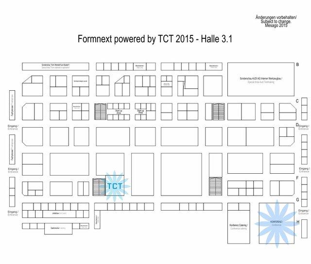 Hallenplan Formnext 2015