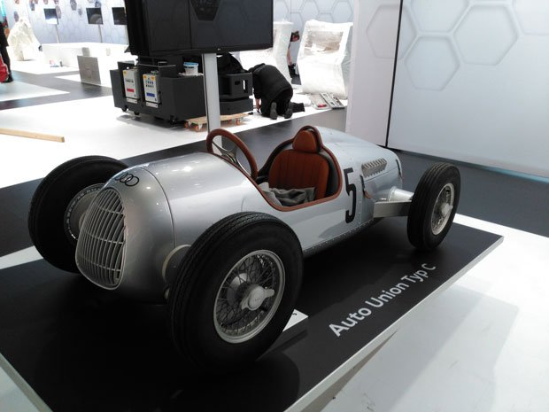 Audi 3D printed Auto Union Typ C at formnext