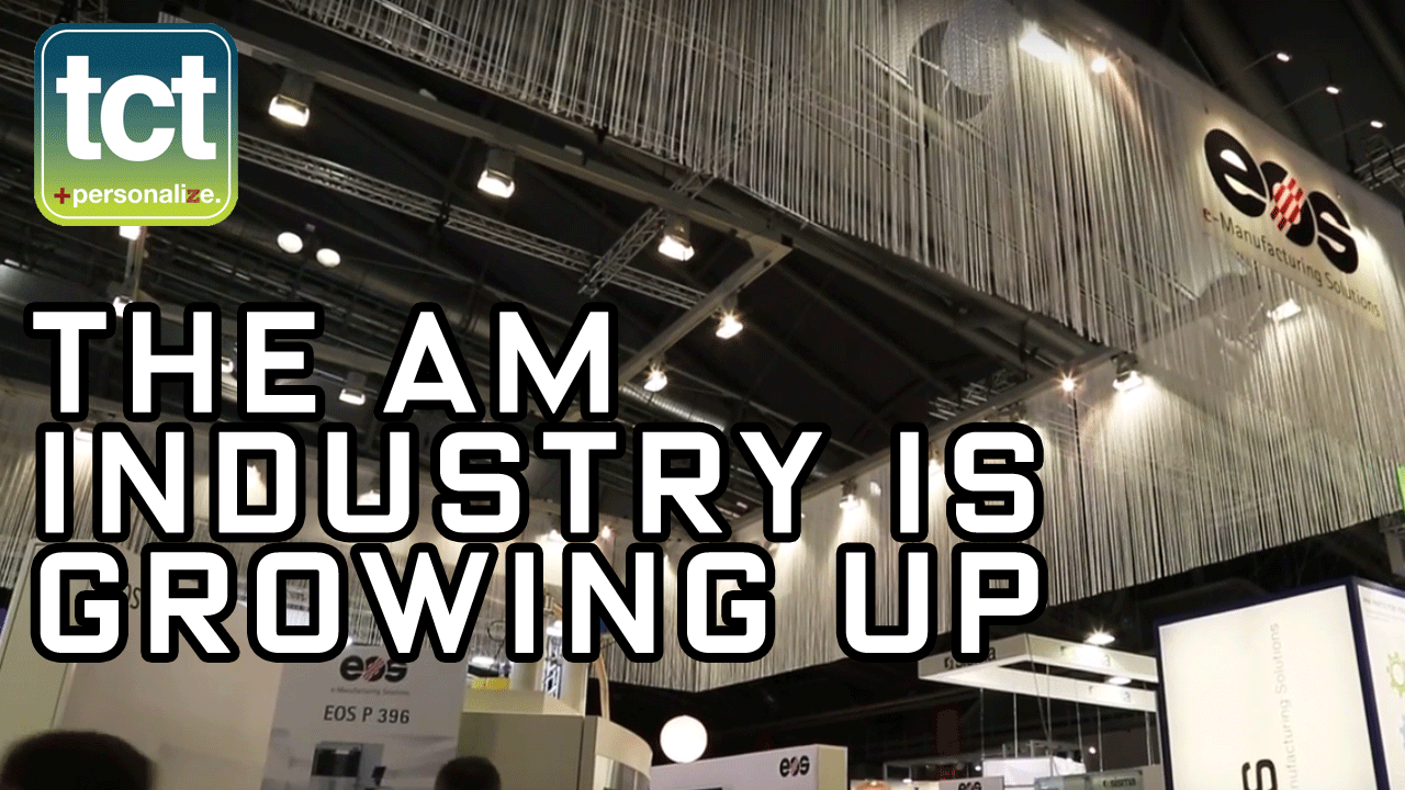 EOS say the Additive Manufacturing industry is growing up at formnext 2015