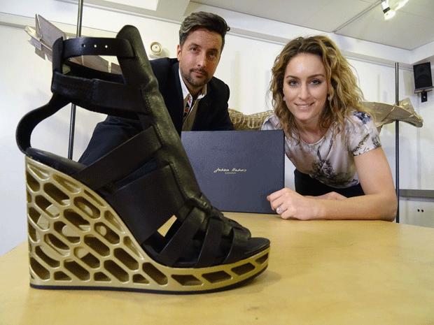 Ogle 3D printed Shoes