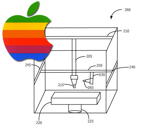 Apple's 3D Printer Patent