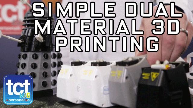 Simple Dual Material 3D Printing