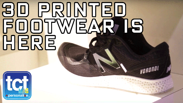 3D Systems and New Balance first 3D Printed midsole