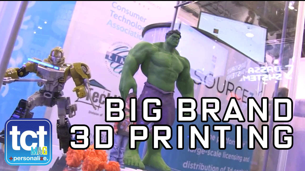 Bringing the big brands to 3D