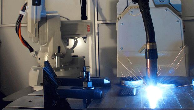 Delcam's ABB Robotic Arm