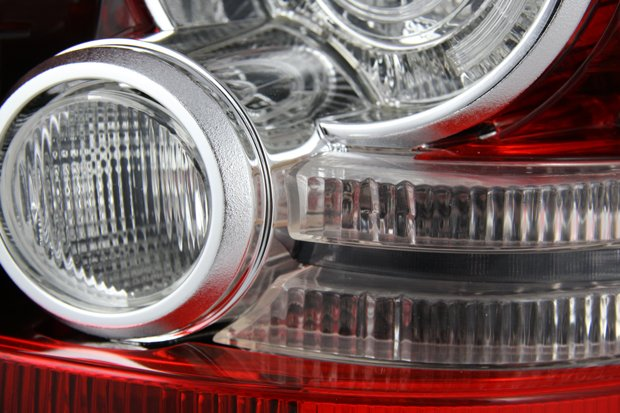Malcolm Nicholls rear lights prototyped for Jaguar Land Rover