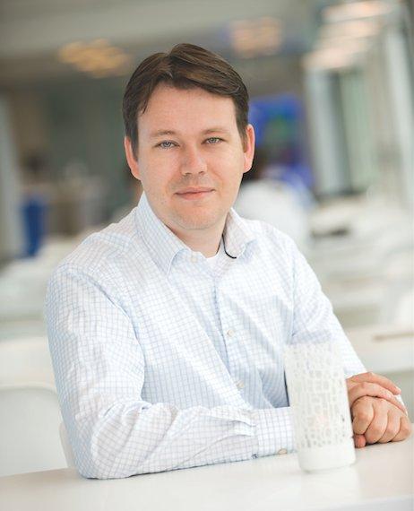Shapeways CEO, Peter Weijmarshausen