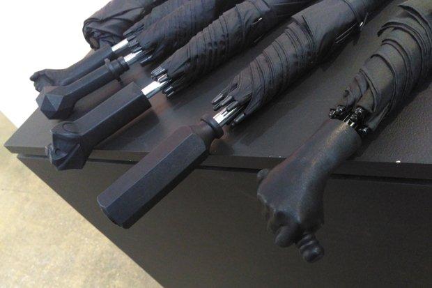 3D Printed Umbrella Handles