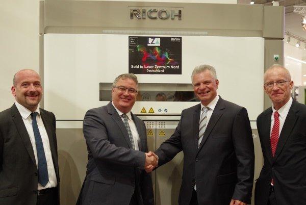 LZN adopts Ricoh 3D Printing technology