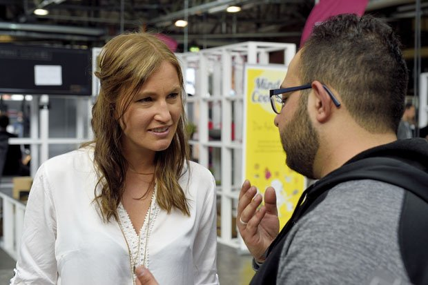 Denise and Asem talk about the future of open 3D printed prosthetics at re:publica 2016