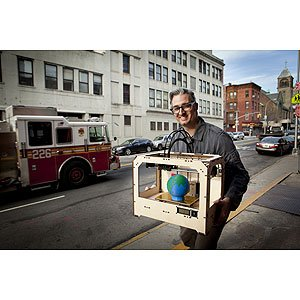 The MakerBot Replicator