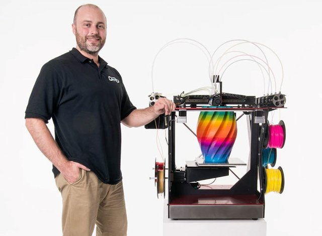 ORD Solutions CEO Chris Gibson and the Rova4D Full Color Blender