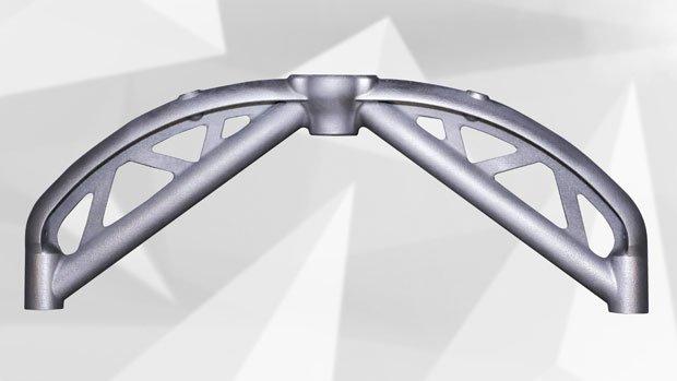 New Wishbone design printed in one shot