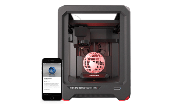 The new MakerBot Replicator Mini +