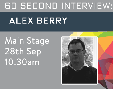 Alex Berry 60 Second Interview