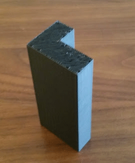 A 3D printed leg for a cabinet