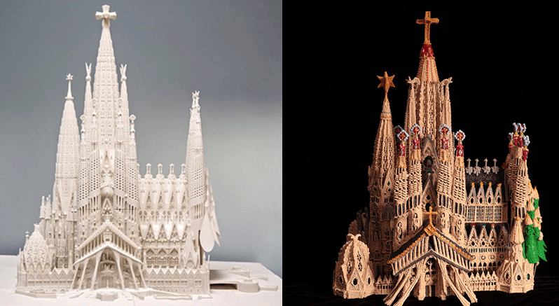 Which 3D Print is more Gaudi