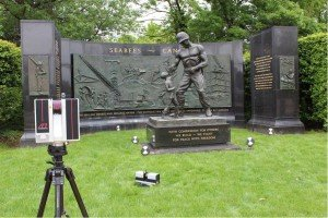 Seabees monument 3D scan