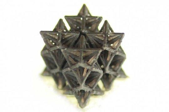 3D printed metamaterial