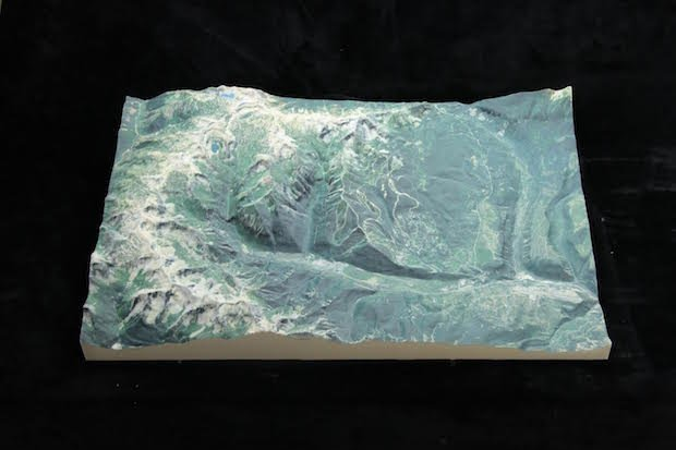 WhiteClouds map model